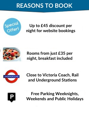 Reasons to book hotel in Victoria